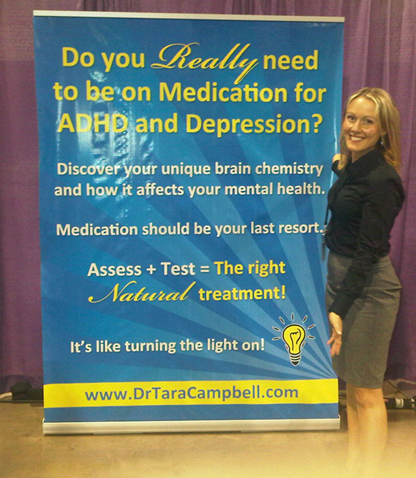 Roll-up banner for trade shows